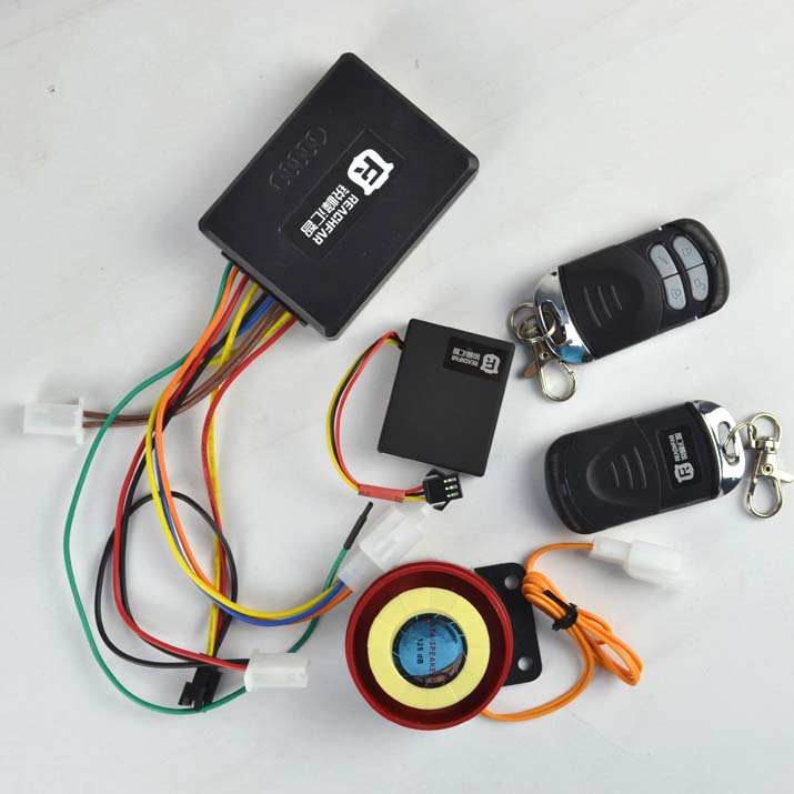 Real time tracker & electric bicycle alarm