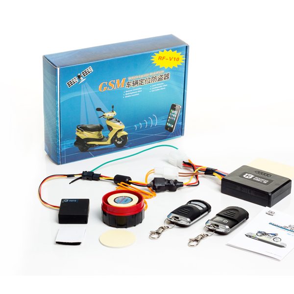 <b>RF-V10 Vehicle Tracker Motorcycles anti-theft system SMS/GPRS GSM Removing Vibration alarm Real time </b>